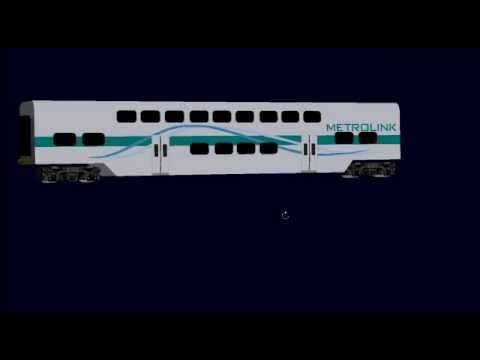 msts improved metrolink rotem coaches in tsm youtube. Black Bedroom Furniture Sets. Home Design Ideas