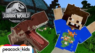 Jurassic World Shut Down Disaster | JURASSIC WORLD MINECRAFT