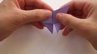 Бабочка оригами | Поделка из бумаги
