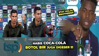 Digeser Cristiano Ronaldo Saham Coca Cola Anjlok? Inilah Aksi Orang Terkenal Bikin Rugi Perusahaan