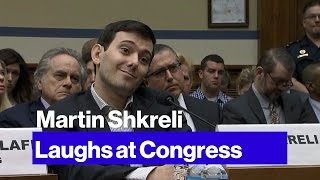 Here's What Happened When Martin Shkreli Went to Congress
