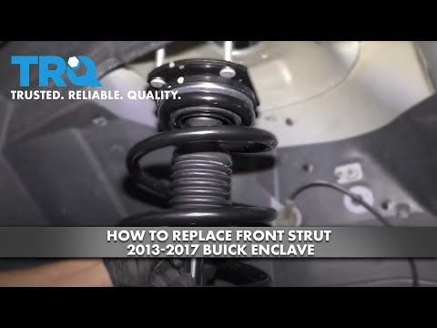 How to Replace Front Strut 2013-17 Buick Enclave