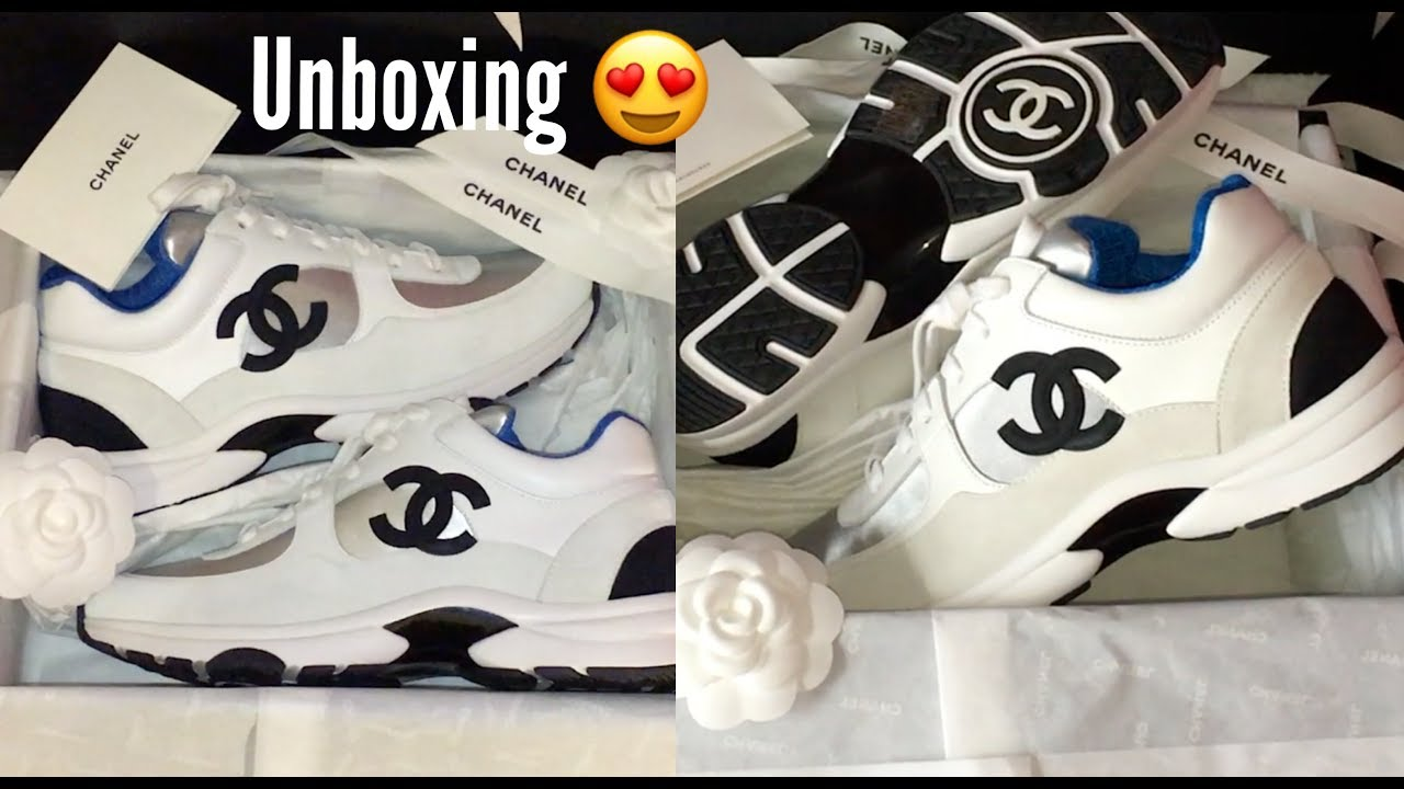 Unboxing CHANEL SNEAKERS SS18