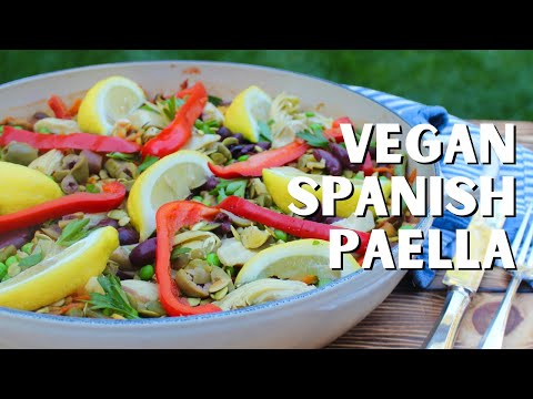 How to Make 100% Vegan Spanish Vegetable Paella