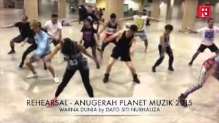 Cover images ANUGERAH PLANET MUZIK 2015 Rehearsal Video - Warna Dunia by Dato Siti Nurhaliza