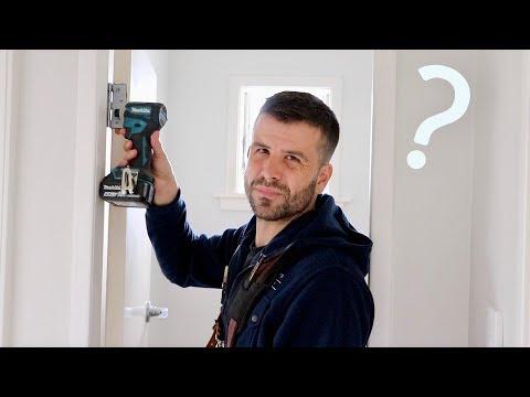 How Do YOU Hang A Door?