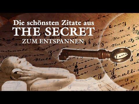 """Die 30 schönsten Zitate aus """"The Secret"""" - Das Geheimnis - Zum Entspannen"""