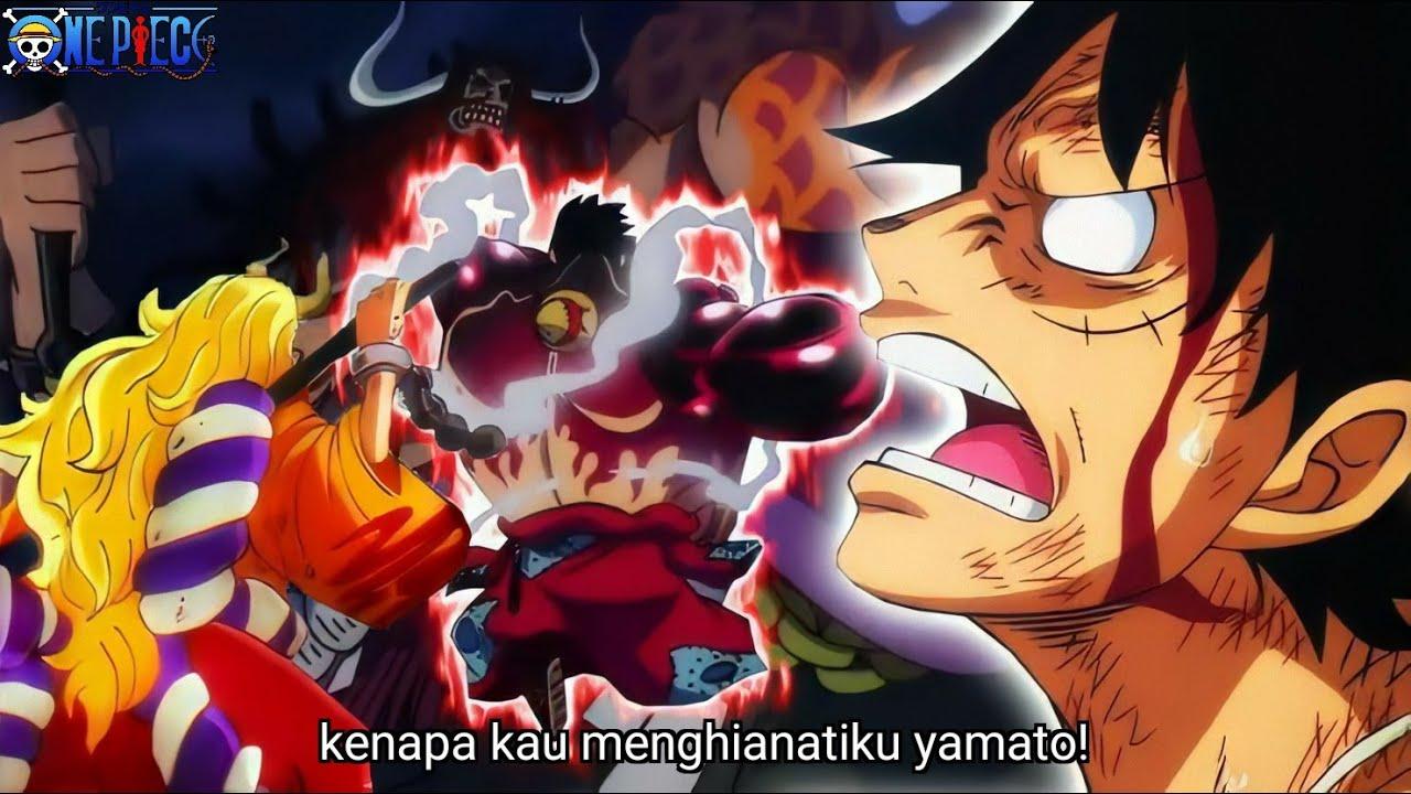 Semua Kelemahan Kaido Dibongkar!! Kerja Sama Antara Yamato Dan Luffy Untuk Menjatuhkan Kaido