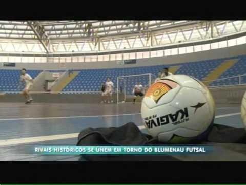 Rivais históricos se unem em torno do Blumenau Futsal