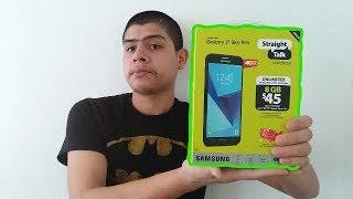 Walmart Samsung Galaxy J7 Sky Pro Straight Talk unboxing