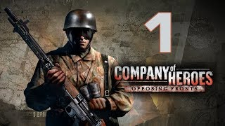 "Прохождение Company of Heroes: Opposing Fronts #1 - Вольфхезе [Операция ""Огород""][Эксперт]"