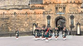 Changing of the Guard Edinburgh Castle - Long Form