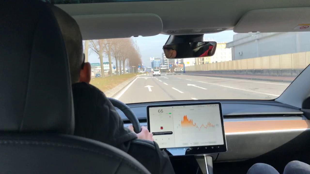 Tesla Model 3 Performance test drive Italiano con TRACK ...