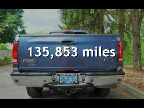 2004 Ford F-250 Lariat 4X4 Turbo Diesel *BULLET PROOF* for sale in Milwaukie, OR