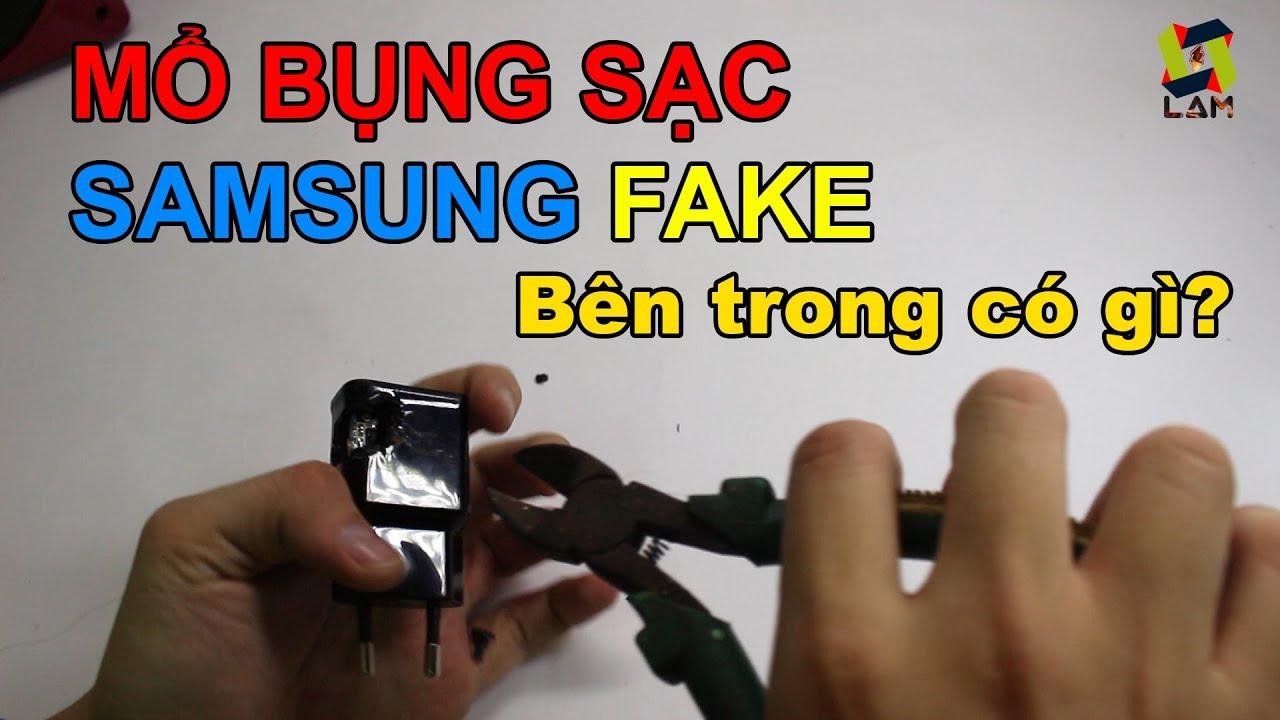 Mổ bụng cáp sạc Samsung FAKE đặt trên LAZADA. Và cái kết đắng lòng!
