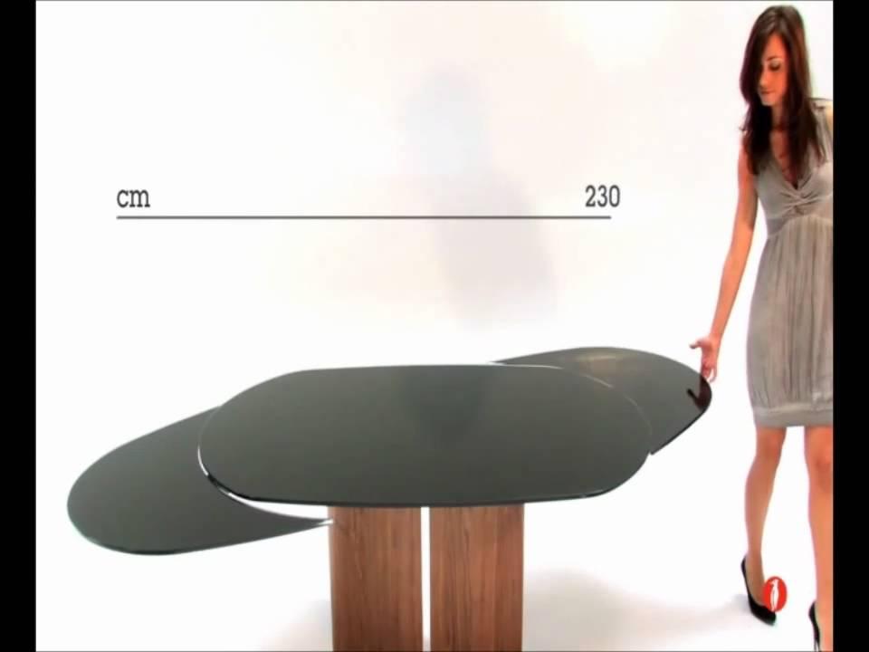 Tavolo Odyssey Calligaris  YouTube