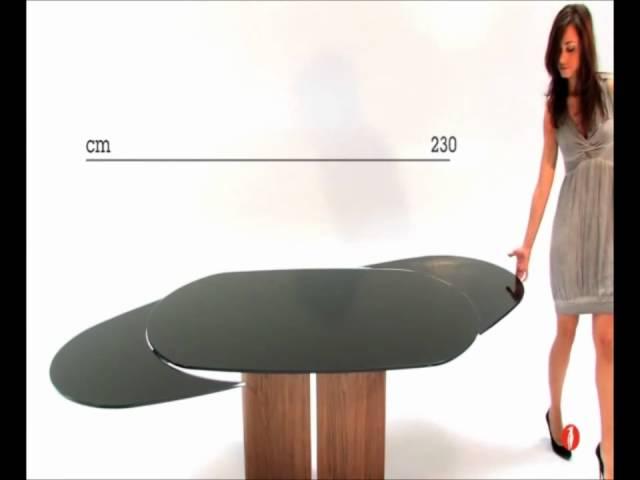 Tavolo Odyssey Calligaris - YouTube