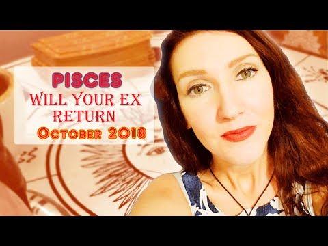Pisces X Will Your Ex Return Love / Soulmate Readings October 2018 X Jennifer Walker