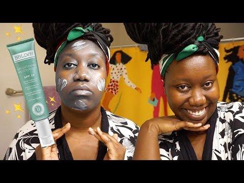 Black-Owned Sunscreen That Isn't Ashy?! ft. Bolden 🌞👻   #BlackGirlBeautyBrand 💁🏿