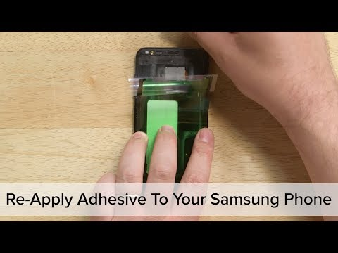 How To Re-Apply Adhesive to Your Samsung Galaxy Phone!