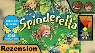 Spinderella (Kinderspiel des Jahres 2015 - Deutscher Kinderspielepreis 2015) - Review