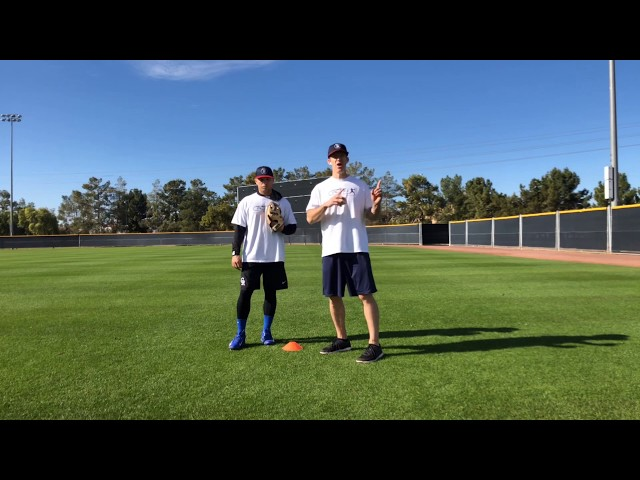 Outfield Fly Ball Adjustment Drill
