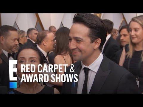 Lin-Manuel Miranda Surprised By Message From Hamilton Cast  E Red Carpet & Award Shows