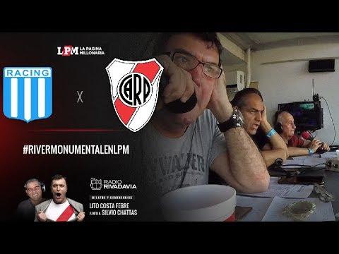 Racing vs. River - Superliga - Relatos Lito Costa Febre