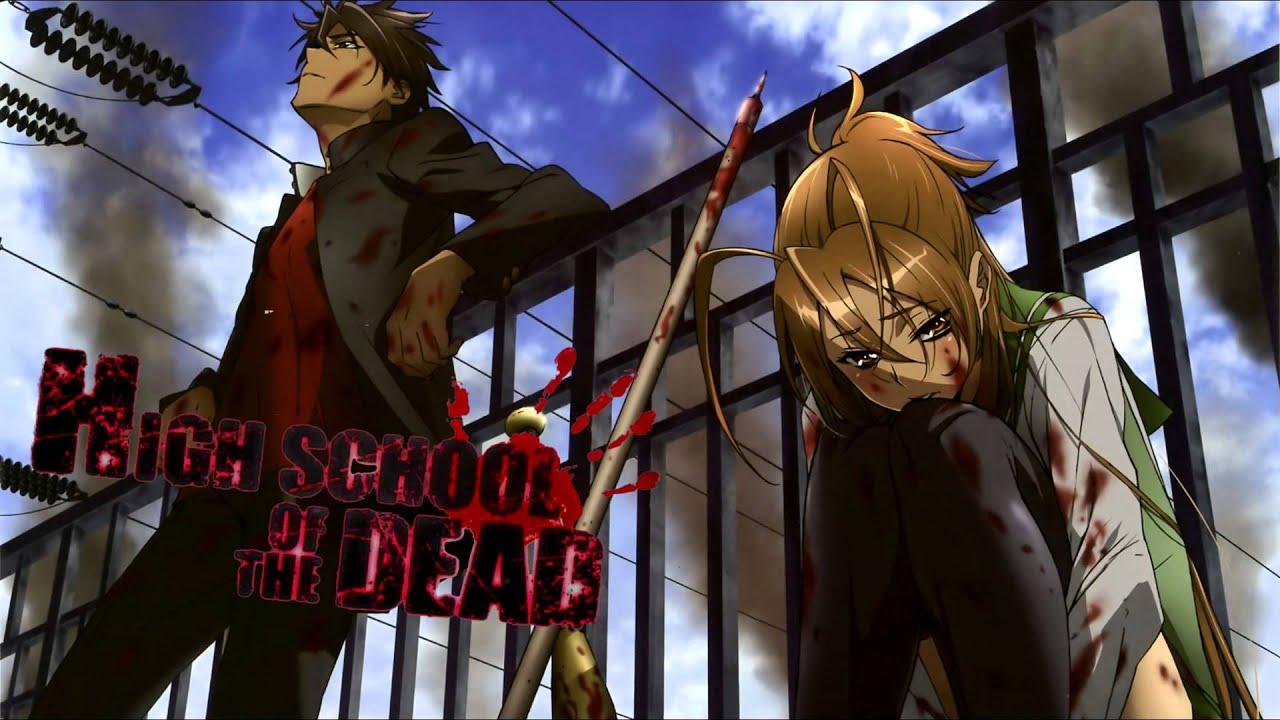HIGHSCHOOL OF THE DEAD血だらけ