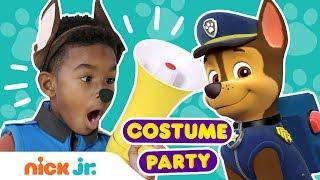 PAW Patrol Costume Party 🐶 Nick Jr.