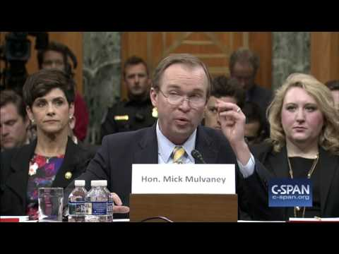 OMB Director Nominee Mick Mulvaney Opening Statement (C-SPAN)