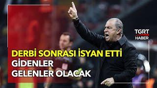 Fatih Terimden Beşiktaş Galatasaray maçı sonrası sert açıklamalar Atan da bırakan da biliyor
