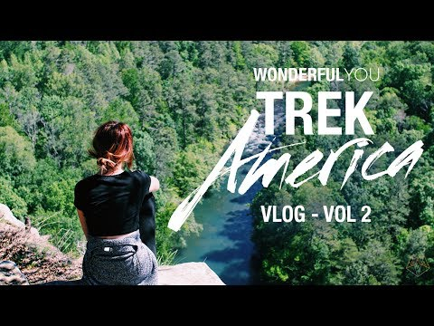 TREK AMERICA: CAN I ABSEIL 85ft?! | Wonderful You Travel Vlog 2