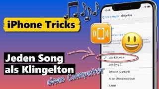 Jeden Song als iPhone Klingelton (ohne Computer & kostenlos) screenshot 2