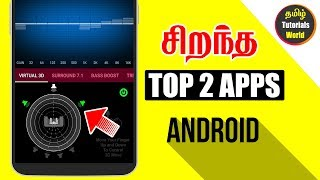 Top 2 Best Apps for Android Tamil Tutorials World_HD