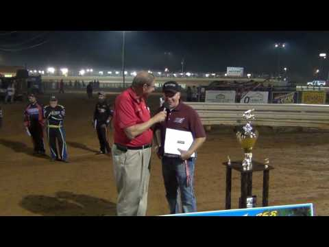 Lincoln Speedway 358 Sprint Car Summer Series Awards 09-03-16