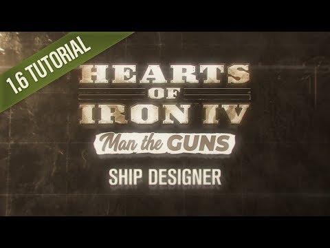 HOI4 Patch 1.6 Tutorial: Ship Designer