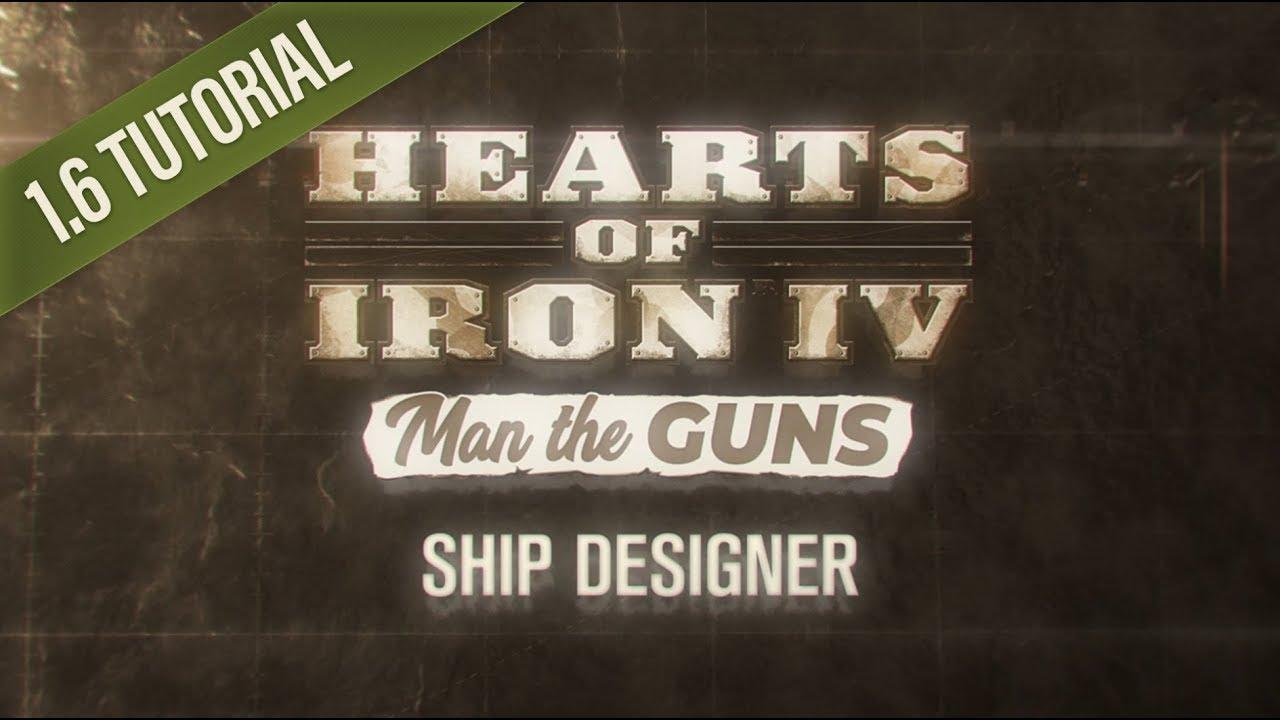 HOI4 Patch 1 6 Tutorial: Ship Designer
