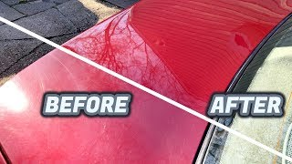 This is How to Restore that Neglected, Dull, and Swirl Covered Paint!