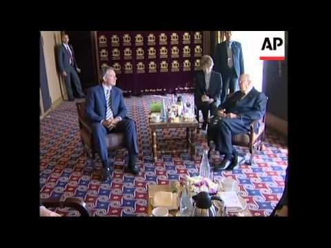 Middle East Quartet envoy Blair meets Italian President