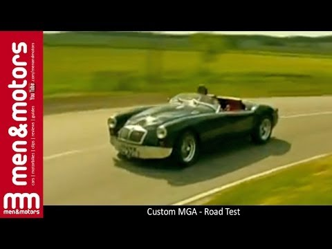 Custom MGA - Road Test - YouTube