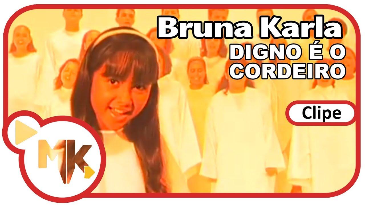 Bruna Karla - Digno é o Cordeiro (Clipe Oficial MK Music)