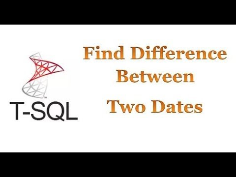 SQL Server – Find Difference Between Two Dates | Acro Schools