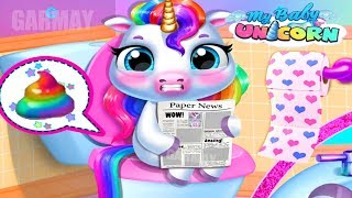 Fun New Born Pony Care Kids Game - My Baby Unicorn - Cute Pet Care and Makeover Games By TutoTOONS