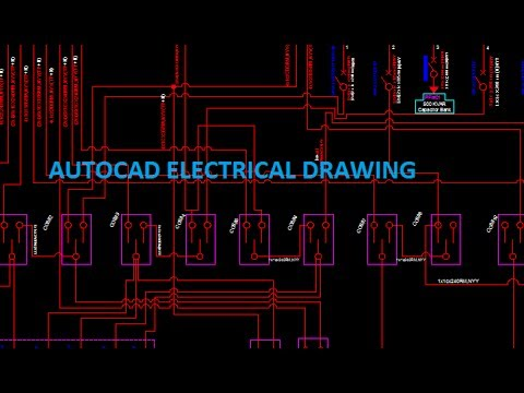 Autocad Electrical Drawing Single Line Diagram Easy Bangla Tutorial