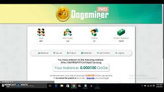 Earn Free DogeCoin | DogeMiners | Free Mining Power - New Cloud Mining Site 2018