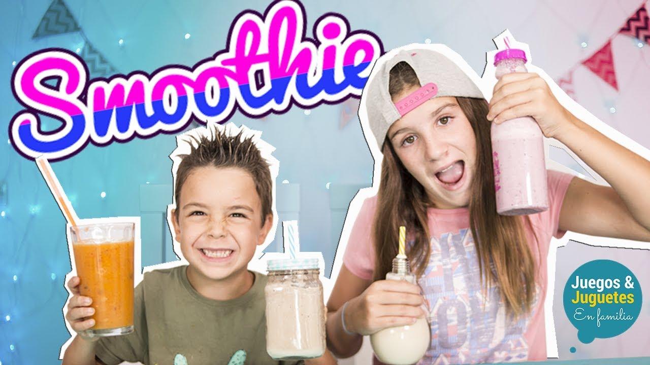 Hacer Casa Juguetes Y Familia 4 Refrescantes Juegos Para Fáciles En Smoothies cl1KTJF