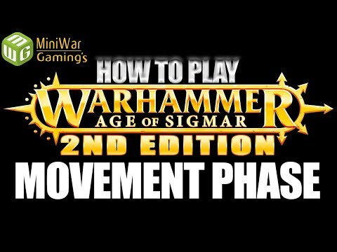 The Movement Phase - How to Play Age of Sigmar 2nd Edition Ep 3