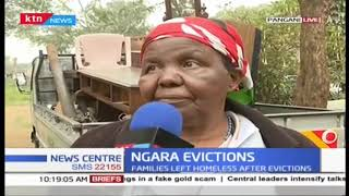 Families in Ngara left homeless after evictions