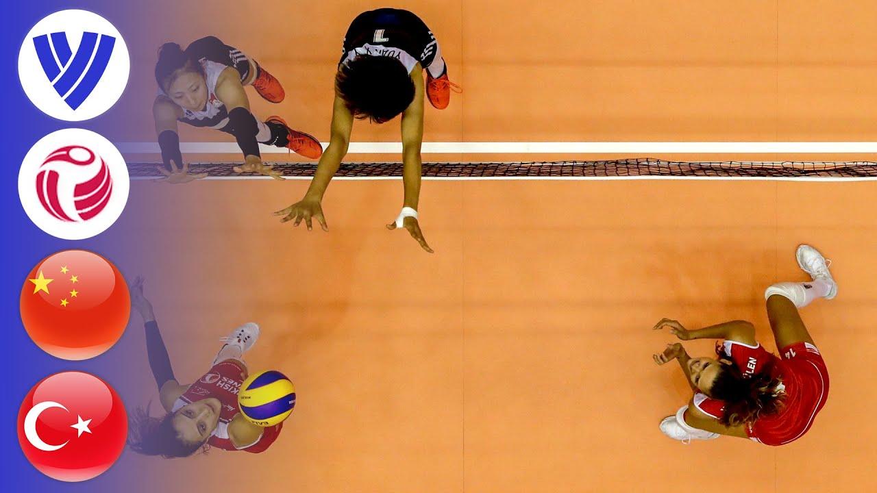 China vs. Turkey - Full Match | Women's Volleyball World Grand Prix 2017
